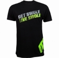 T-paita MusclePharm,Get Swole Live Swole, Black