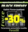 BLACKFRIDAY: -30% Force tuotteista pe-su (24-26.11)